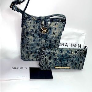 Brahmin Glacier Leather Set
